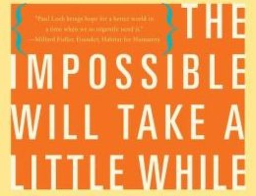 The Impossible Will Take A Little While: Perseverance And Hope In Troubled Times By Paul Rogat Leob chats with Dr. Alvin