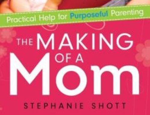 The Making Of A Mom: Practical Help For Purposeful Parenting By Stephanie Shott chats with Dr. Alvin