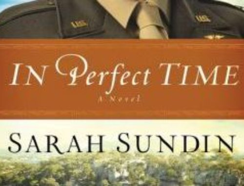 In Perfect Time By Sarah Sundin chats with Dr. Alvin
