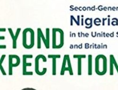 Onoso Imoagene, Author Of Beyond Expectations: Second-Generation Nigerians In The United States and Britain Chats With Dr. Alvin