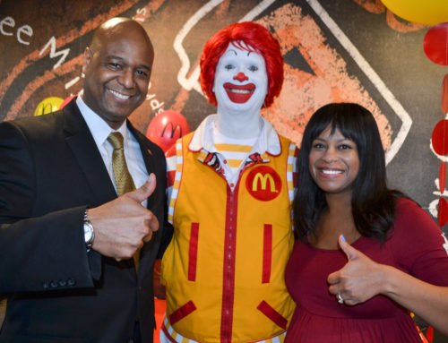 Jemond Daughtry, Owner/Operator Of The Good Food Group McDonald's Chats With Dr. Alvin