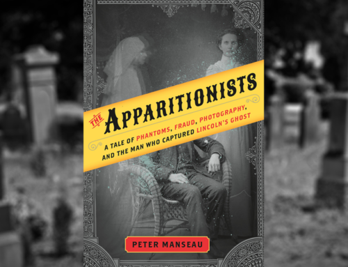 Peter Manseau, Author Of The Apparitionists: A Tale of Phantoms, Fraud, Photography, And The Man Who Captured Lincoln's Ghost Chats On Dr. Alvin
