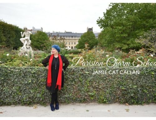 Jamie Cat Callan, Author Of Parisian Charm School: French Secrets For Cultivating Love, Joy, And That Certain je ne sais quoi