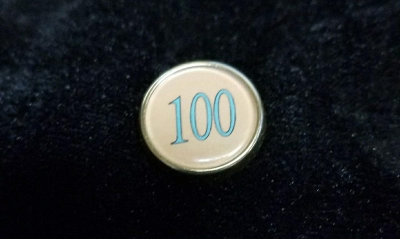 The Winter Mint Green Gold Lapel Pin Of The Leading 100