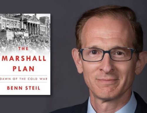Benn Steil, Author Of The Marshall Plan: Dawn of the Cold War Chats On DrAlvin.Com