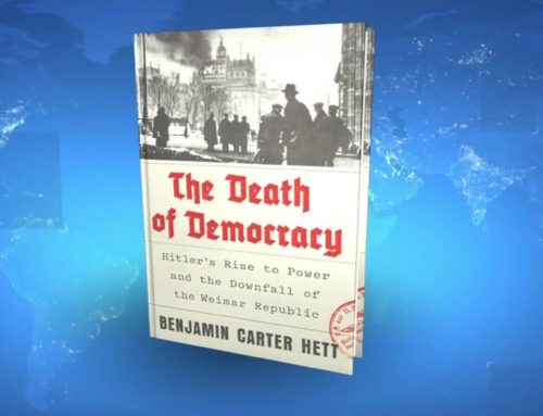 My Conversation With Benjamin Carter Hett, Author Of The Death of Democracy: Hitler's Rise To Power And The Downfall Of The Weimar Republic