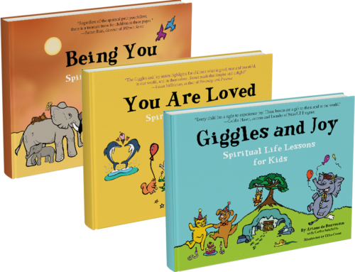 My Conversation With Ariane de Bonvoisin, Author Of The Giggles & Joy Gift Set