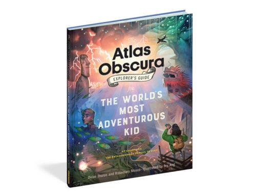 My Conversation With Dylan Thuras, Author of The Atlas Obscura Explorer's Guide For The World's Most Adventurous Kid