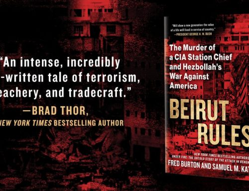 My Conversation With Samuel Katz, Author Of Beirut Rules: The Murder Of A CIA Station Chief And Hezbollah's War Against America