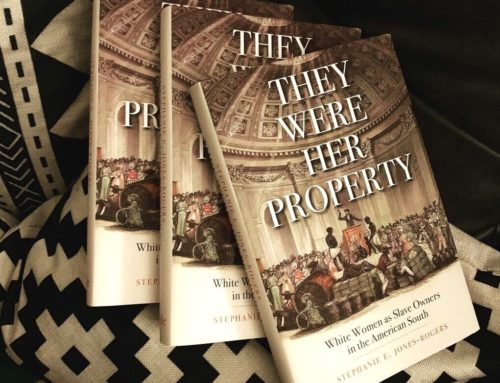 My Conversation With Stephanie E. Jones-Rogers, Author Of They Were Her Property: White Women As Slave Owners In The American South