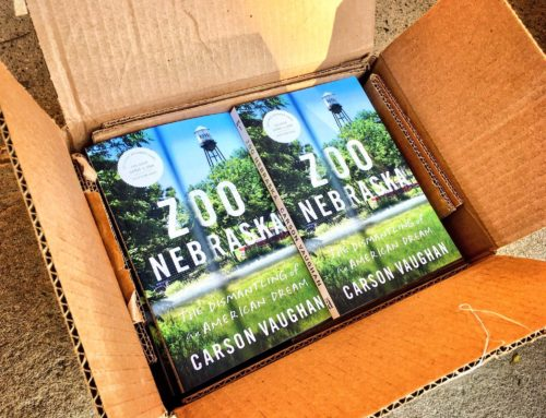 My Conversation With Carson Vaughan, Author Of Zoo Nebraska: The Dismantling Of An American Dream