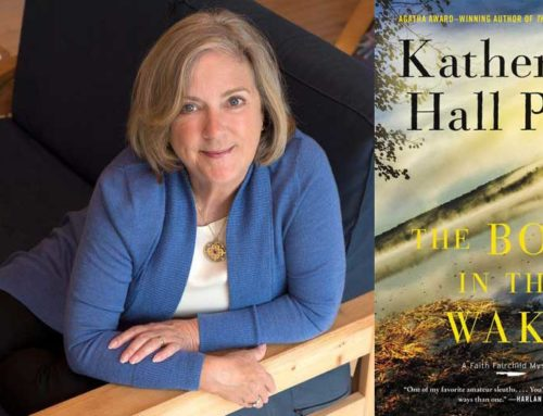 My Conversation With Katherine Hall Page, Author Of The Body In The Wake: A Faith Fairchild Mystery