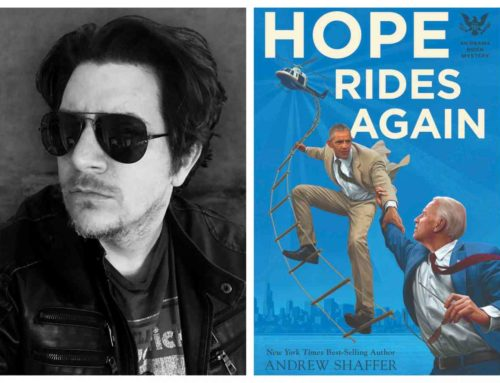 My Conversation With NY Times Best Selling Author Andrew Shaffer Of Hope Rides Again: An Obama Biden Mystery